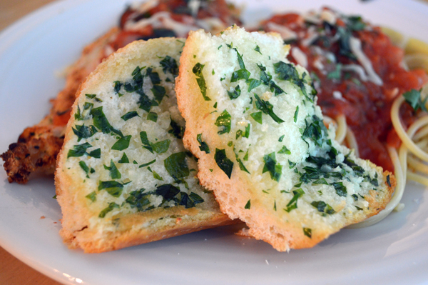 how to make garlic bread loaf at home