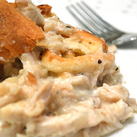 Double-Crusted Chicken Pie