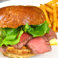Steak and Muenster Sandwich from www.jasonscooking.com