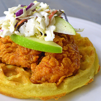 Chicken and Waffles from www.jasonscooking.com